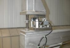 Sensor de pesatge d'acer inox per a dispositiu de buidatge big-bag EVERBAG