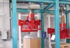 Dispositivo de llenado de octabin desde un silo