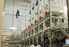 Estaciones de vaciado de big-bag con polipasto eléctrico